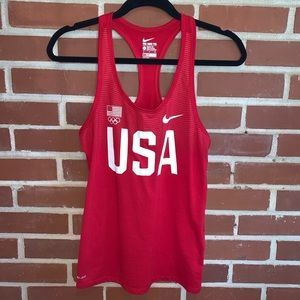 Nike USA Olympic Team Dri-Fit Tank Top